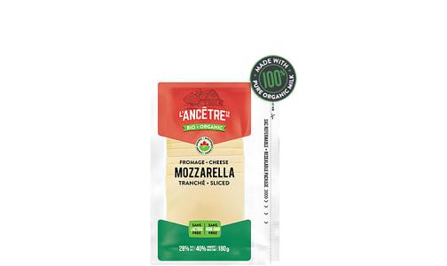 Organic Sliced Mozza 28% MF- Code#: DC0033
