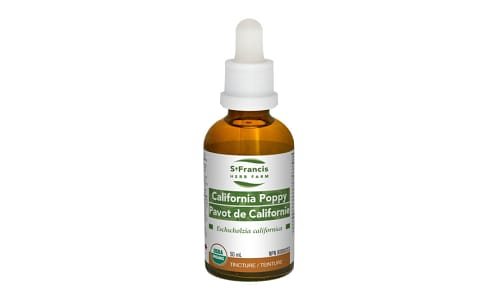 Organic California Poppy- Code#: PC4522