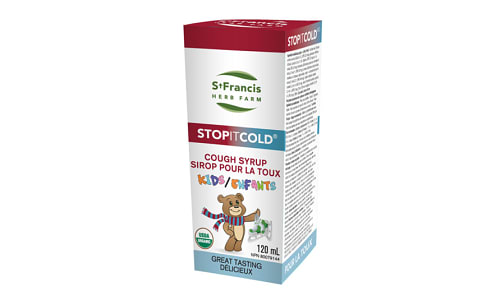 Organic Stop It Cold - Cough Syrup Kids- Code#: PC4378