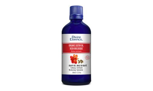 Organic Castor Oil Beauty Oil- Code#: PC3449
