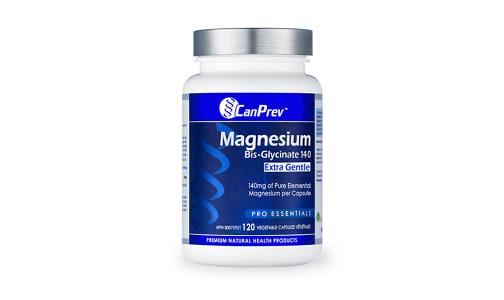 Organic Magnesium Bis-Glycinate 140 Extra Gentle- Code#: VT0293