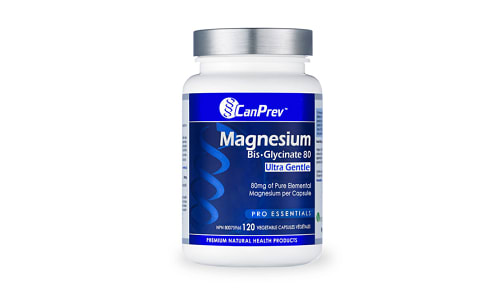 Organic Magnesium Bis-Glycinate 80 Ultra Gentle- Code#: VT0295