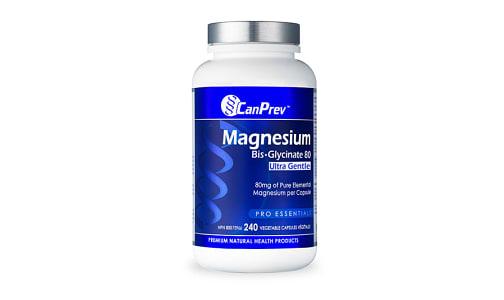 Organic Magnesium Bis-Glycinate 80 Ultra Gentle- Code#: VT0296