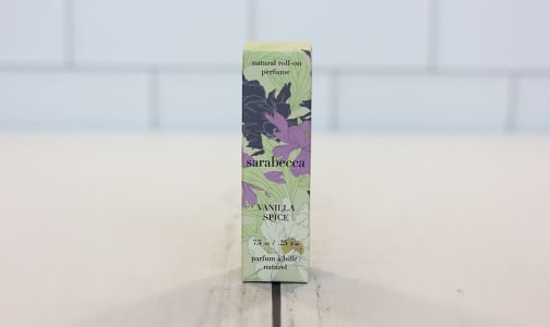 Organic Roll-On Perfume - Vanilla Spice- Code#: PC3444