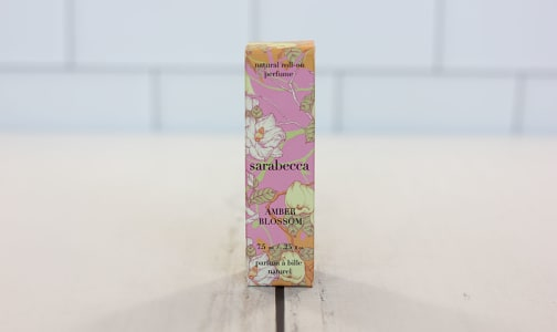 Organic Roll-On Perfume - Amber Blossom- Code#: PC3445