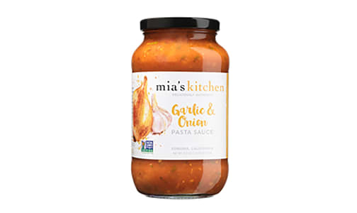 Garlic & Onion Pasta Sauce- Code#: PM0343