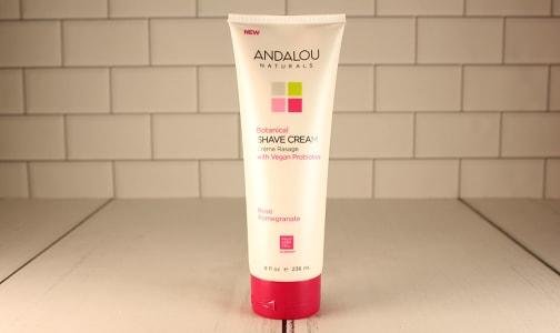 Organic CannaCell® Botanical Shave Cream - Rose Pomegranate- Code#: PC4596