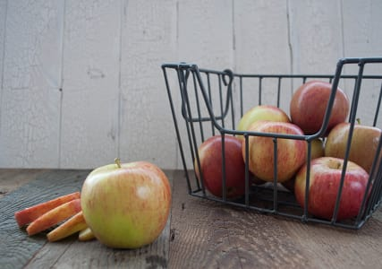 Organic Apples, Bagged Ambrosia - Large Size Apples- Code#: PR147217NPO