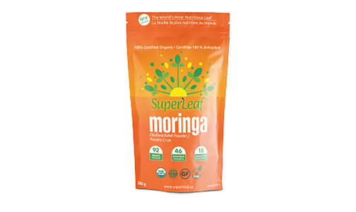 Organic SuperLeaf Moringa Powder- Code#: PC4178