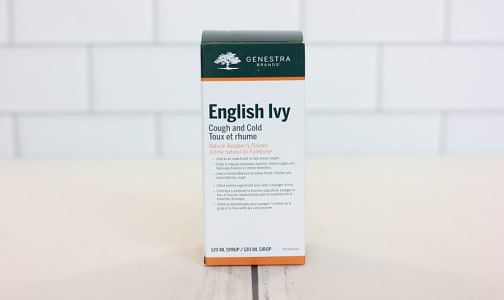 English Ivy Cough & Cold- Code#: TG0068