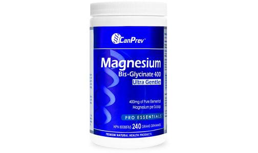 Organic Magnesium Bis-Glycinate 400 Ultra Gentle Powder- Code#: VT0310