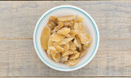 Dried Candied Ginger Chunks- Code#: AY0039