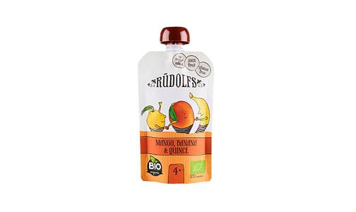 Organic MangoBanana Quince Puree Pouch- Code#: BB0023