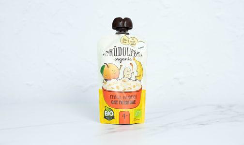 Organic Peach Banana Oat Porridge- Code#: BB0028