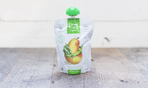 Organic Super Blends Kale, Peas & Pear- Code#: BB014
