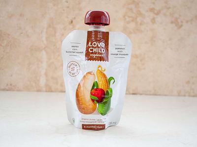 Organic Super Blends Butternut Squash, Corn & Apple- Code#: BB015