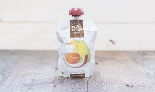 Organic Super Blends Banana, Pumpkin, Pear & Coconut- Code#: BB016
