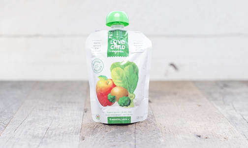 Organic Super Blends Apple, Spinach, Kiwi & Broccoli- Code#: BB017