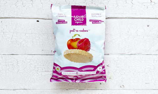 Organic Pat-A-Cakes - Apple & Raspberry- Code#: BB061