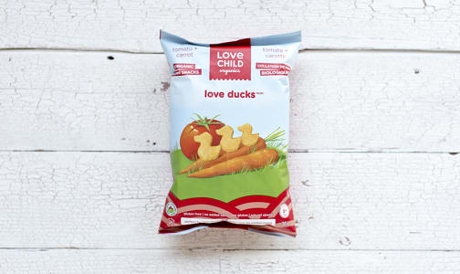 Organic Love Ducks - Tomato & Carrot- Code#: BB080