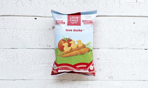 Organic Love Ducks - Tomato & Carrot- Code#: BB080