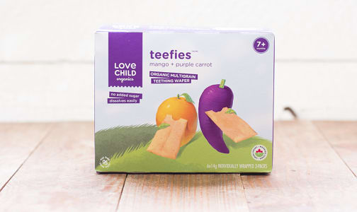 Organic Teefies - Mango & Purple Carrot- Code#: BB090