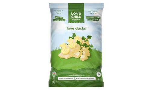 Organic Cheese & Herbs Love Ducks- Code#: BB098