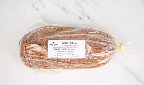 Organic Sprouted Wheat Bread SLICED- Code#: BR0114