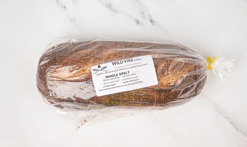 Organic Whole Spelt Bread SLICED- Code#: BR0117