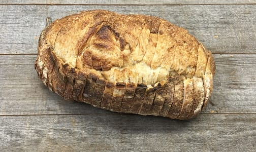Organic Rustic White Bread SLICED- Code#: BR0119