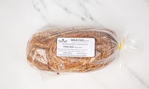 Organic Three Seed Bread SLICED- Code#: BR0121