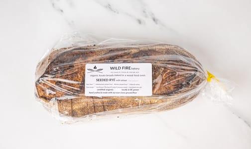 Organic Seeded Rye Bread SLICED- Code#: BR0122