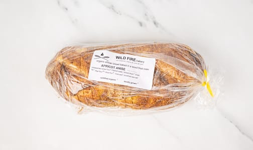 Organic Apricot Anise Bread SLICED- Code#: BR0123