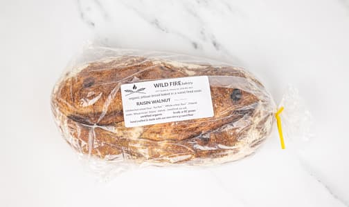 Organic Raisin Walnut Bread- Code#: BR0128