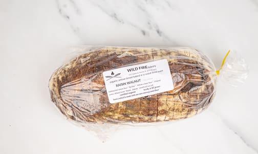 Organic Raisin Walnut Bread, Sliced- Code#: BR0129