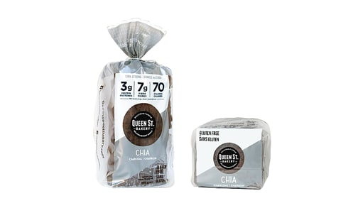 Chia Charcoal Loaf (Frozen)- Code#: BR0148