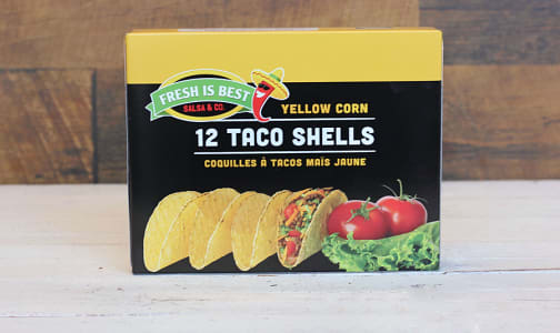 Yellow Corn Taco Shells- Code#: BR0287