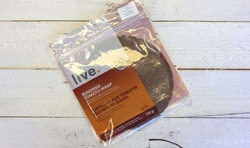 Organic Sundried Tomato Wrap- Code#: BR0317