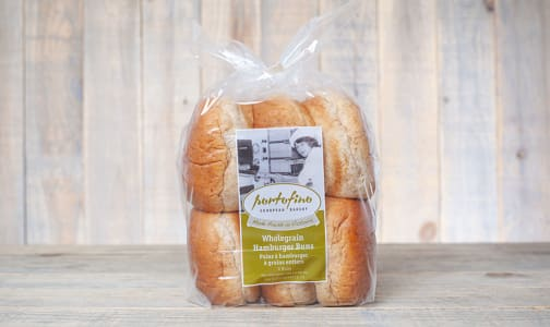 Wholegrain Hamburger Buns- Code#: BR0360