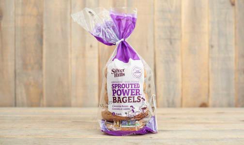 Organic Cinnamon Raisin Bagels (Frozen)- Code#: BR0392