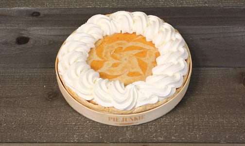 Pie Junkie - Pumpkin Candied Ginger Cheesecake Pie (Frozen)- Code#: BR0397