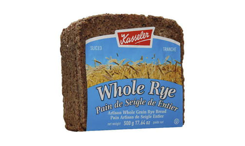 Whole Rye Bread- Code#: BR0459