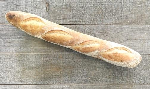 Organic Rustic White Baguette- Code#: BR0502
