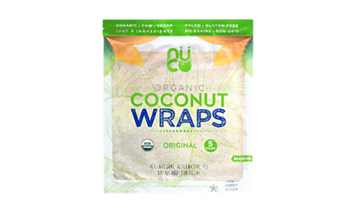 Organic Coconut Wraps - Original- Code#: BR0548