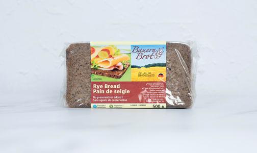 Organic Rye Bread- Code#: BR0564