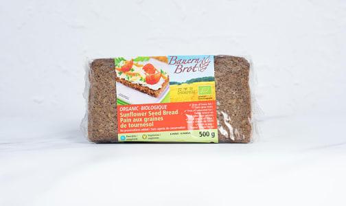 Organic Sunflower Seed Bread- Code#: BR0566