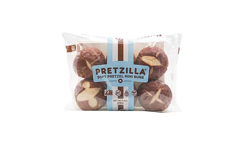 Soft Pretzel Mini Buns (Frozen)- Code#: BR0574