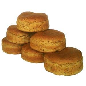 Gluten Free Burger Buns, Brown- Code#: BR0744
