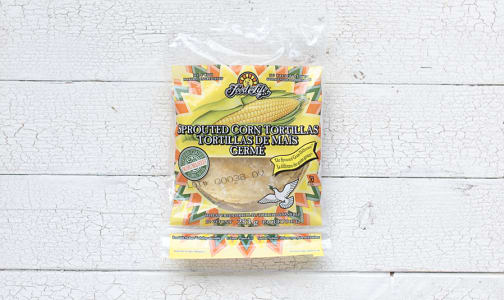 Sprouted Corn Tortillas (Frozen)- Code#: BR145