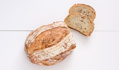Potato Rosemary French Sourdough Unsliced - Yeast, Sugar & Fat Free- Code#: BR176